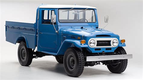 Toyota Trucks Beautifully Restored Toyota Land Cruiser Needs
