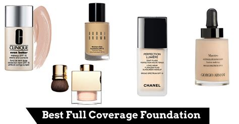 best foundation for coverage best full coverage foundation of 2018 make up by chelsea
