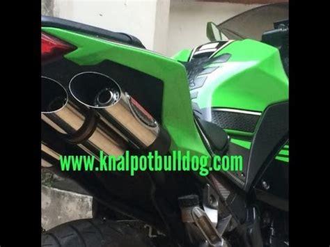 Knalpot Racing Kawasaki Fi 250 Akrapovic High Quality ganti knalpot slip on rr mono 250 cc doovi
