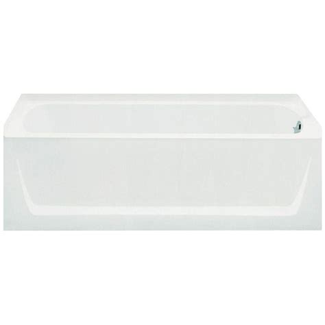 sterling ensemble bathtub sterling ensemble 5 ft right drain bathtub in white