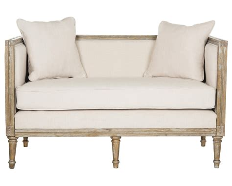 country settee safavieh leandra french country settee ebay