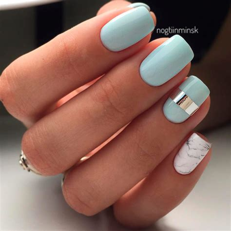 Nail With Pastel Colors
