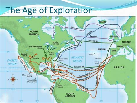 american explorers map module 2 american history i lesson 2