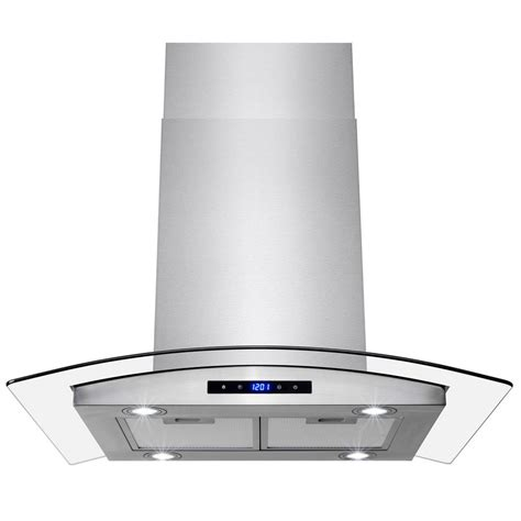 kitchen island range hood akdy 30 in convertible kitchen wall mount range hood with