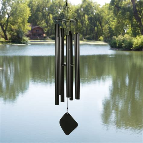 Home Signs Decor by 60 In Aquarian Tenor Metal Wind Chimes Pismo Bob S
