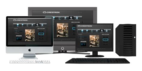 crestron global home automation