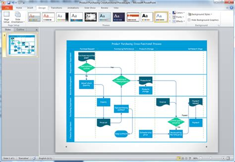 a flowchart in powerpoint create flowchart for ppt on mac