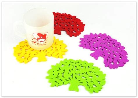 Tree Cup Mat 1pc tree style coffee milk tea cup mat pad protector ebay