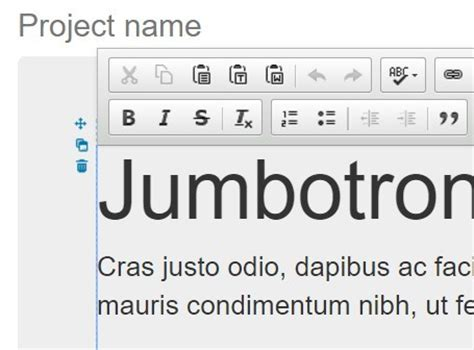 jquery ui layout builder jquery plugin for editable content with markdown editing