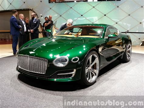 bentley concept car 2015 bentley exp 10 concept front three quarter view at 2015