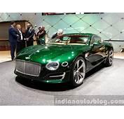 Bentley EXP 10 Concept Front Three Quarter View At 2015