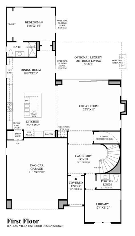 floor plan of the alamo new luxury homes for sale in danville ca avery at alamo