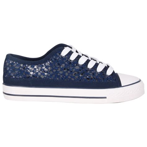 lace sneakers womens canvas low top lace up trainers flatform shoes