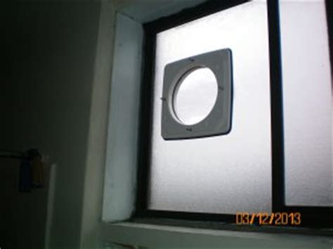 how to install exhaust fan in window window exhaust fan installation electrician electrical