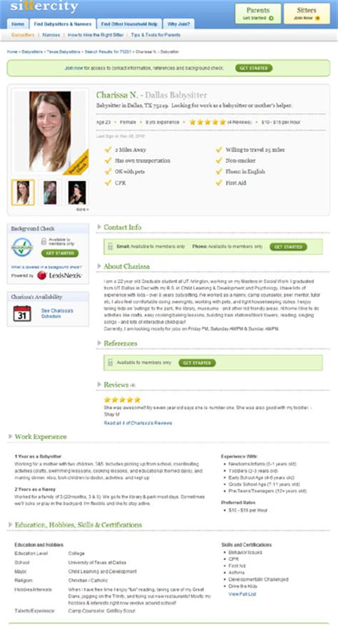 background check for nanny reviews background ideas