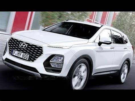2019 Hyundai Santa Fe Interior by 2019 Hyundai Santa Fe Redesign Interior And Exterior