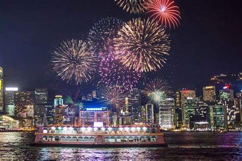 new year fireworks cruise hong kong new year fireworks cruise in hong kong