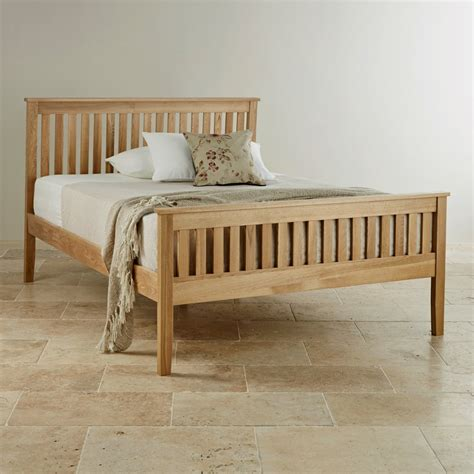 Oak Bedroom Sets King Size Beds Cairo King Size Bed In Solid Oak Oak Furniture Land