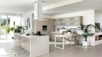 modern white kitchen interior design ideas