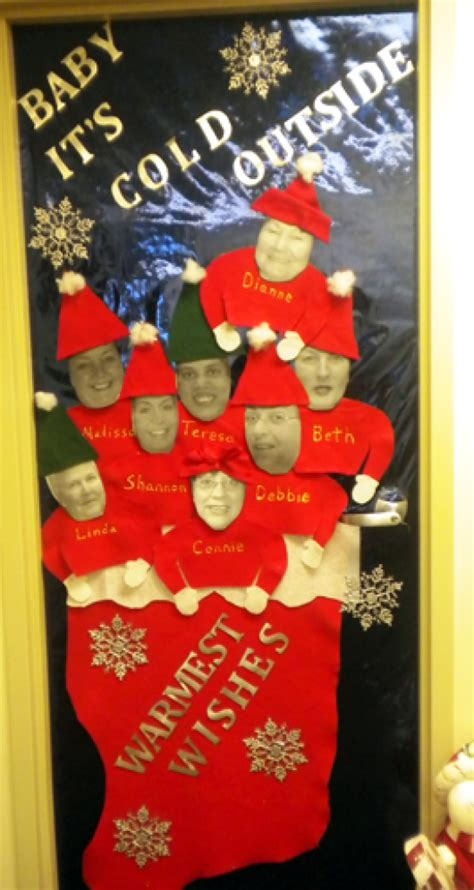 christmas door decorating contest winners vol4iss46