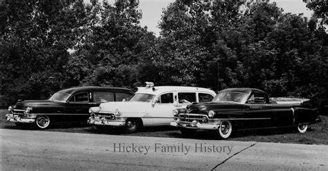 1952 hickey funeral home vehicles