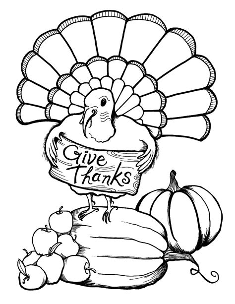 Thanksgiving Coloring Sheet by Thanksgiving Color Sheets 187 Coloring Pages