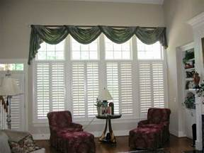 Gallery modern window treatment ideas for living room sloped ceiling