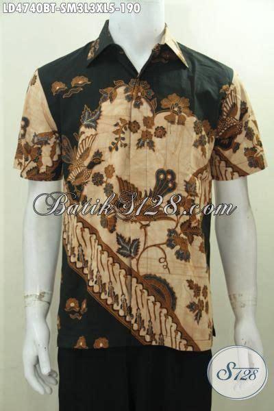desain baju batik yang bagus jual online baju batik bagus buatan solo hem lengan