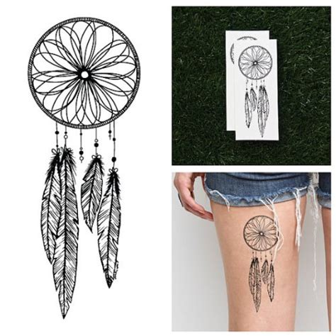 dreamcatcher tattoo hipster hipster jewelry temporary tattoos blog