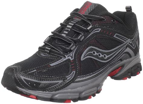 saucony mens grid excursion tr6 trail running shoe in