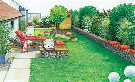 kleine ecke im garten gestalten sichtschutz terrasse doppelhaus die neueste innovation