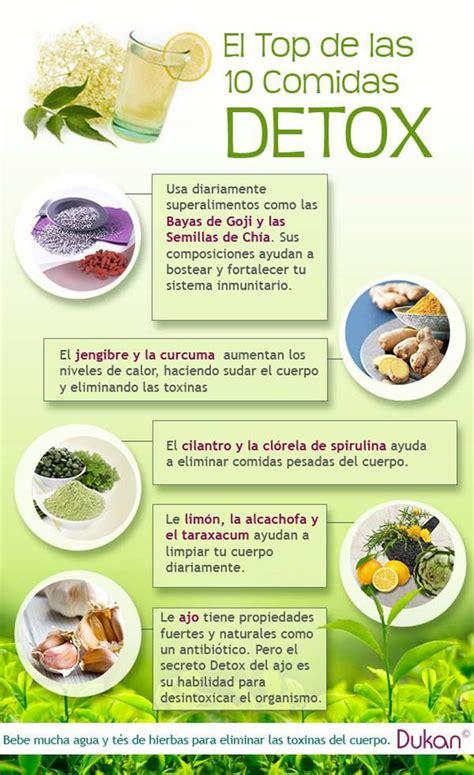 que alimentos tienen colageno y elastina 10 comidas detox para desintoxicar el organismo