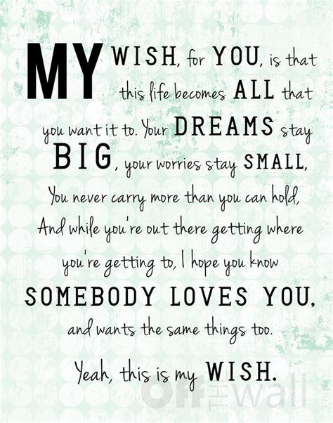"""My Wish"" by Rascal Flatts"