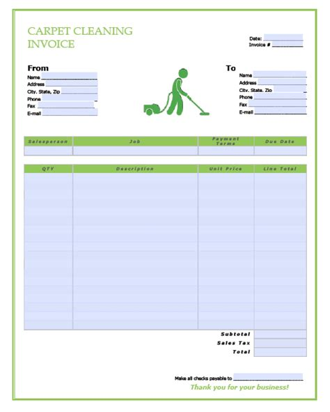 work invoice template pdf and free hvac maintenance contract