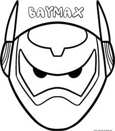 bamax colouring pages