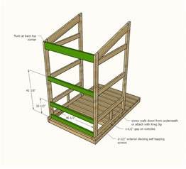 Outdoor Bench Setting Ana White Outhouse Plan For Cabin Diy Projects