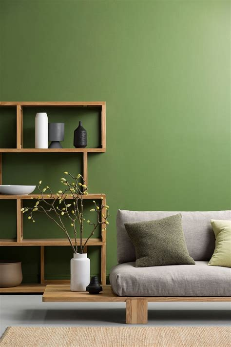 green bedroom feature wall will you embrace pantone s colour of the year 2017