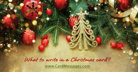 write   christmas card card messages