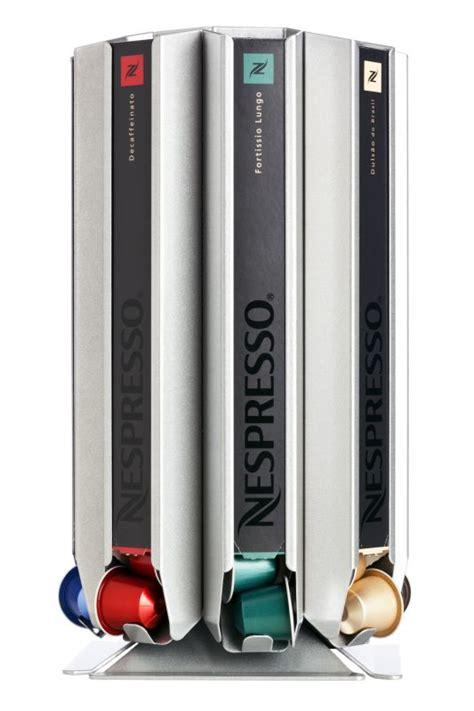Pod dispenser, capsule rack CoffeeTower Box N80 silver for Nespresso   eBay