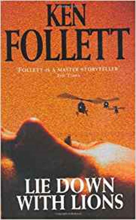 lie down with lions amazon co uk ken follett 9780330354264 books