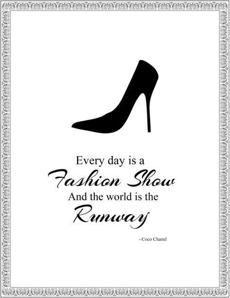 printable chanel quotes a personal favorite from my etsy shop coco chanel quote