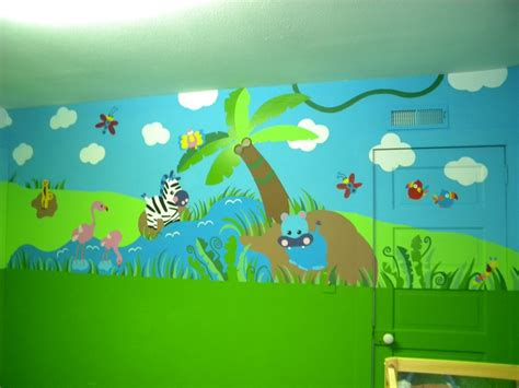 daycare wall murals daycare jungle mural complete wall 2 mural ideas jungles murals and daycares