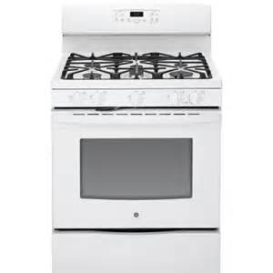 home depot gas range ge 5 0 cu ft gas range with self cleaning oven in white