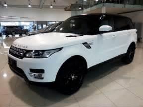 matte white range rover sport cars