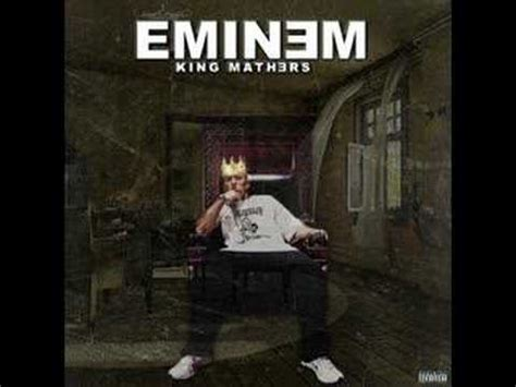 eminem king mathers eminem king mathers official album cover youtube