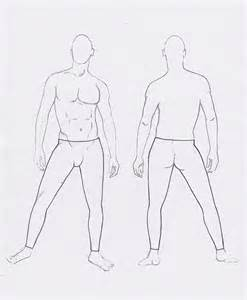 male flats body template lean athletic male models picture