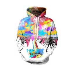 colorful hoodies cool colorful creative hip hop 3d hoodies sweatshirts