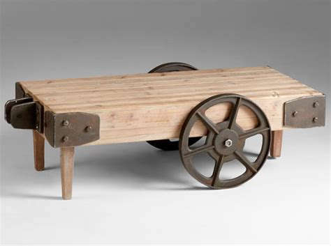 Industrial Coffee Table With Wheels Peenmedia Com Industrial Coffee Table On Wheels