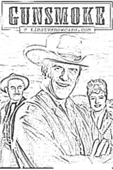 Gunsmoke Coloring Pages | gunsmoke coloring book coloring pages