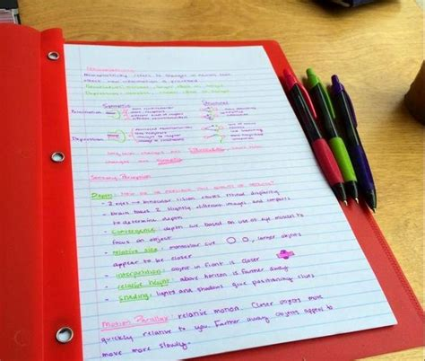best colored pens for notes notetaking blogzuola